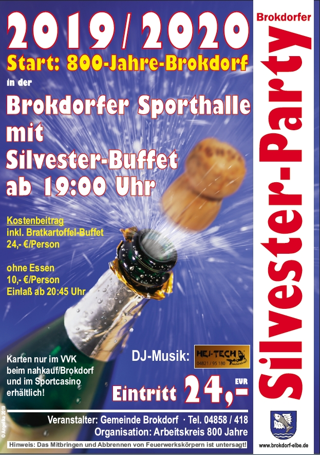 Sylvesterball in Brokdorf